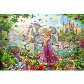 Fairy in Magic Forest