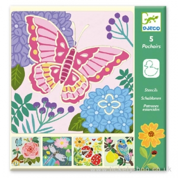 Small gifts - Stencils - Garden wings
