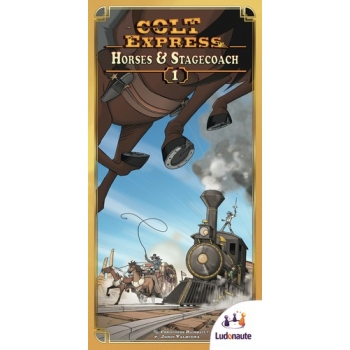 Colt Express Horses & Stagecoach Exp