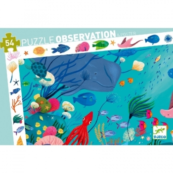 Observation puzzles - Aquatic - 54pcs