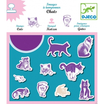 Stamps - Cats