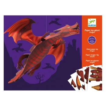 Paper toys - Giant dragon
