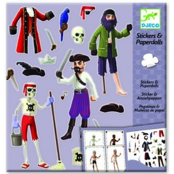 Paper dolls - Pirates