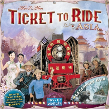 Ticket To Ride Map Coll. #1 Asia