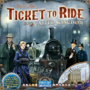 Ticket To Ride Map Coll. #5 UK/Pennsyl