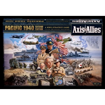 Axis & Allies 1940 Pacific 2nd Ed.