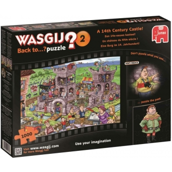 "Pusle ""Wasgij Imagine: Back to 2 A 14th Century Castle!"", 1000 tk"