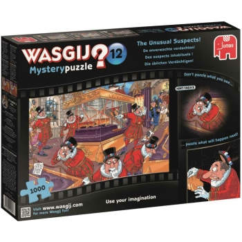 "Pusle ""WASGIJ Mystery 12 , The Unusual Suspects"", 1000 tk"