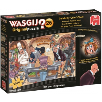 "Pusle ""Wasgij Original 26, Celebrity Chief Chef!"", 1000 tk"