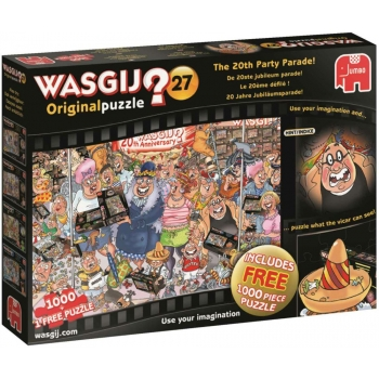 "Pusle ""Wasgij Original 27, The 20th Party Parade!"", 2in1, 2x1000 tk"
