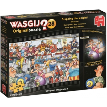 "Pusle ""Wasgij Original 28, Dropping the Weight!"", 1000 tk"