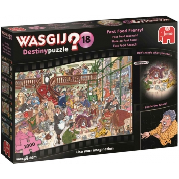 "Pusle ""Wasgij Destiny 18, Fast Food Frenzy"", 1000 tk"