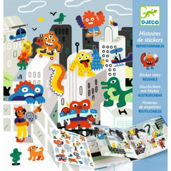 Small gifts - Stickers - Monster invasion