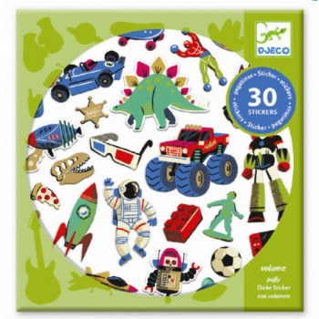 Small gifts - Stickers - Retro toys