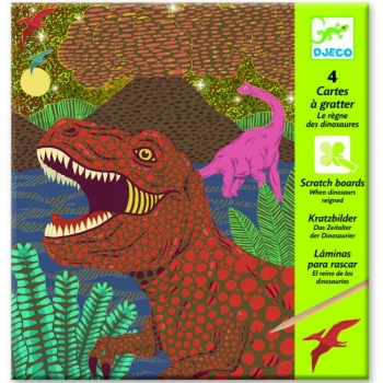 Scratch cards - When dinosaurs