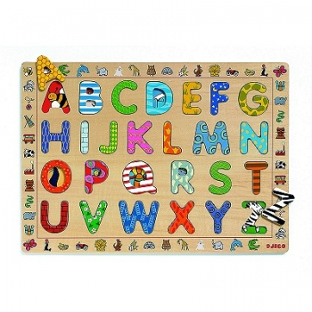 Wooden puzzle - ABC (french only)