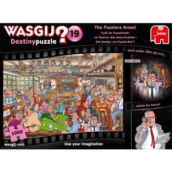 Wasgij Destiny 19 The Puzzlers Arms!