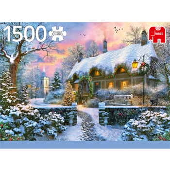 "Pusle ""Whitesmith's Cottage in Winter"" 1500 tk"