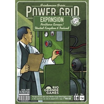 Power Grid: Northern Europe / UK & Ireland