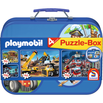 Playmobil box, 2x60, 2x100