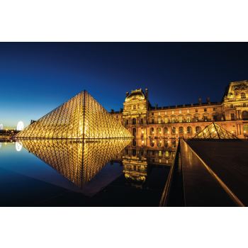 Pusle The Louvre by Night, 1000