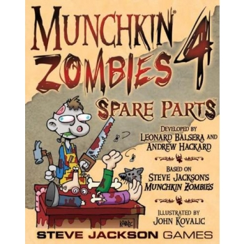 Munchkin Zombies 4 Spare Parts