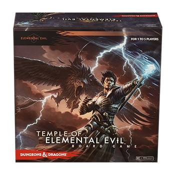 D&D Temple of Elemental Evil Board Game