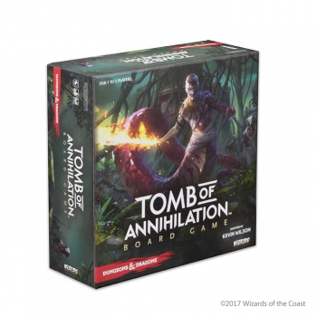 D&D Tomb of Annihi Board Game 2017