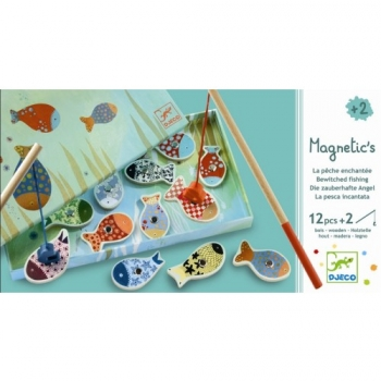 Wooden magnetics - Enchanted fishing