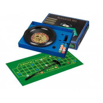 Roulette Set, with plastic wheel