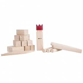 Õuemäng: Kubb Original, Red king, FSC