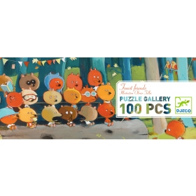 Puzzles gallery - Forest friends - 100 pcs