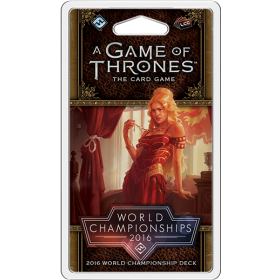 A Game of Thrones LCG WC 2016 Joust Deck