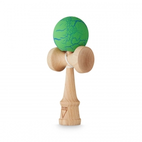 KROM Crack Green/Blue kendama