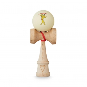 KROM Chari Co Maple Muscle Maple Purple kendama
