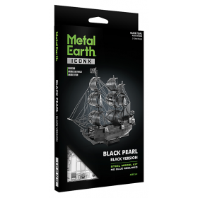 Metal Earth ''Black pearl, Black''