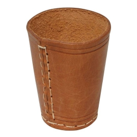 Dice Cup Leather
