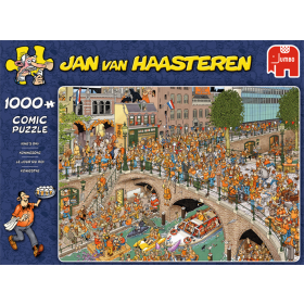 "Pusle ""Jan van Haasteren – Kings Day"" 1000 tk"