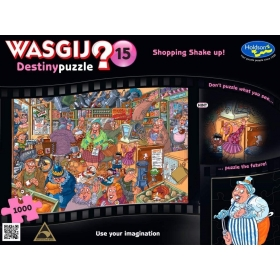 "Pusle ""Wasgij Destiny 15, Shopping Shake Up"" 1000 tk"