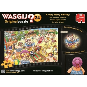 "Pusle ""Wasgij Original 24, A Very Merry Holiday"" 1000 tk"