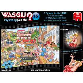 "Pusle ""Wasgij Mystery 15, A Typical British BBQ!"" 1000 tk"