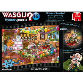 "Pusle ""Wasgij Mystery 16, Birthday Surprise!"" 1000 tk"