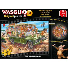 "Pusle ""Wasgij Original 31, Safari Surprise!"" 1000 tk"
