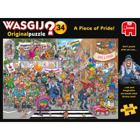 "Pusle ""Wasgij Original 34, Piece of Pride!"" 1000 tk"
