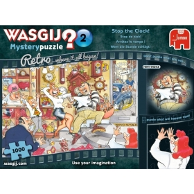"Pusle ""Wasgij Retro Mystery 2, Stop the Clock!"" 1000 tk"