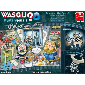 "Pusle ""Wasgij Retro Mystery 3, Drama at the Opera!"" 1000 tk"