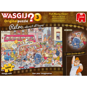 "Pusle ""Wasgij Retro Original 3, Full Monty Fever!"" 1000 tk"