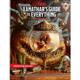 D&D 5th Ed. Xanatar's Guide To Everythin
