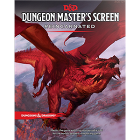D&D 5th Ed. DM's Screen Reincarnated