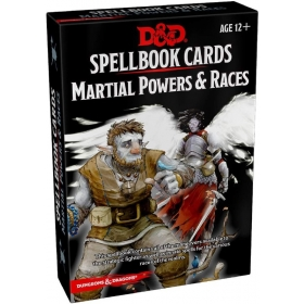 D&D 5th Spell Deck Martial Power & Races